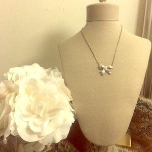 Crystal Bow Pendant